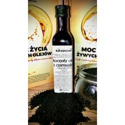 Olej z czarnuszki tłoczony na zimno z 0,5 kg czarnuszki