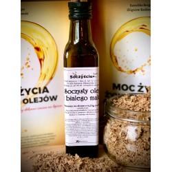 Olej z maku białego tłoczony na zimno z 0,5 kg maku białego