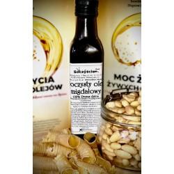 Olej migdałowy tłoczony na zimno z 0,5 kg migdałów...