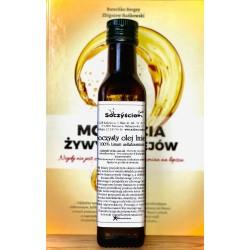Olej lniany 250 ml tłoczony na zimno z lnu brązowego