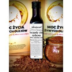 Olej rydzowy 250 ml tłoczony na zimno